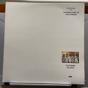 "12"" Vinyl Single - Frankie Goes To Hollywood - Power of Love - Gatefold + Prints"