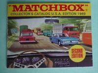 MATCHBOX KATALOG 1969 - Collector's Catalog U.S.A. - Second Edition