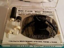 MINI-FLASK BELT BUCKLE IN CASE OF EMERGENCY