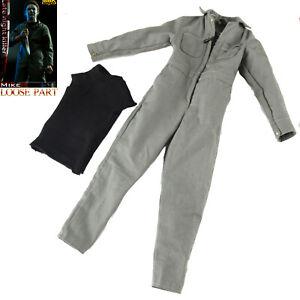 "BBK BBK009 1/6 Michael Myers Halloween Late Night Killer 12"" Figure Work Clothes"