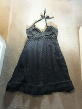 French Connection Halter Neck Dress Size 10 also fit 8