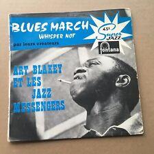 ART BLAKEY ET LES JAZZ MESSENGERS blues march - French EP 45t BIEM (7') -  JAZZ