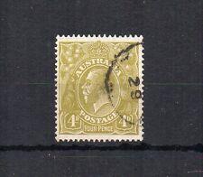 Australia 1928 4D sideface fu CD