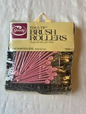 14 Vintage Goody Medium Ball-tip Brush Rollers With 24 Roller Pins MIP NEW