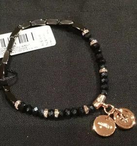 MIMCO Bracelet Memoir Rose Gold Night Sky Bead Wrist Jewellery Bangle BNWT New