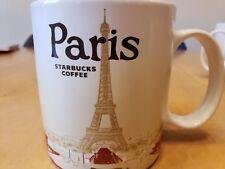 NEW! Starbucks Global Icon Mug PARIS - I bought in Paris France 2014!