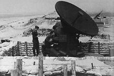 WW2 - Photo - Radar de tir allemand en Normandie
