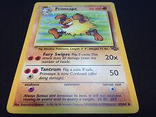 Pokemon Primeape 43/64 Unlimited Edition Jungle Set UnCommon Card Mint