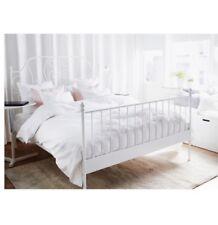 Wie neu: IKEA LEIRVIK Bettgestell + Lattenrost + MALFORS Matratze