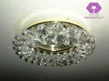 joshop luce da soffitto classico moderno oro cristallo led incasso nuovo studio