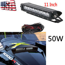 2014-2016 CAN-AM MAVERICK X DS 10-11'' LED LIGHT BAR + Mounting Bracket Kit