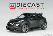 AUTOART 77458 NISSAN JUKE R 2.0 (MATT BLACK) 1:18TH SCALE