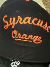 Syracuse University Script Wool Mens M/L New Era 9Fifty Strapback Cap Hat NEW