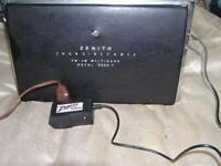 ZENITH TRANS-OCEANIC, Royal 1000, 2000, 3000, AC Adapter NEW! battery box