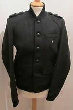 "THE KOOPLES MENS 'SOFT MILITARY' GREY WOOL JACKET SIZE XS 36"" BNWT *RRP £290"