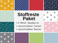 uni dunkelgrün Baumwolljersey 2 x 25 x 150 Pünktchen in verschiedene Farben
