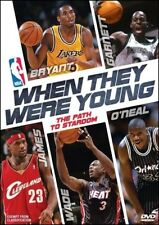 WHEN THEY WERE YOUNG Lebron JAMES Kobe BRYANT Shaquille O'NEAL Basketball DVD R4
