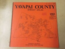 1982 Phoenix Mapping/Wide World *Yavapai County* Street Atlas (Prescott AZ) 1st!