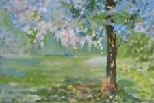 Terry Donnelly, The Cherry Tree, mounted open edition print, signed