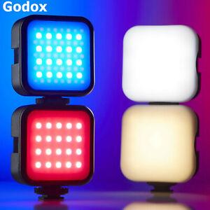 Godox LED 6R RGB Mini Led Video Light 3200K-6500K Photography Studio Fill Light