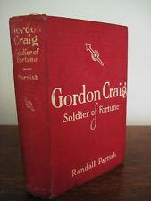 GORDON CRAIG  Randall Parrish RARE Edition CLASSIC Antique ILLUSTRATED