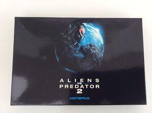Aliens Vs Predator 2 (Requiem) RARE Promotional Silver Padded Notebook