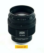 New Lens Helios 40-2 f/1.5 85 mm Canon EF Mount