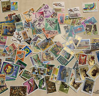 GUINEA LOT OF 125 DIFFERENT STAMPS INCLUDING PICTORIALS AND SUBSETS GUINEE