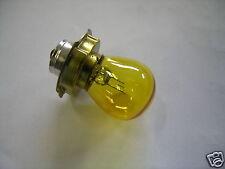 I LAMPADA LAMPADINA  P26S Gialla  6V 15W