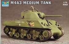 1/72 M4A3  Medium Tank TRUMPETER MODEL KIT 7224