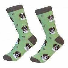Saint Bernard Socks Unisex Dog Cotton/Poly One size fits most