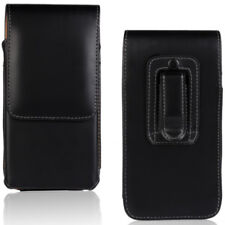 For Motorola Moto X4 Vertical Leather Tradesman Belt Clip Buckle Case Cover