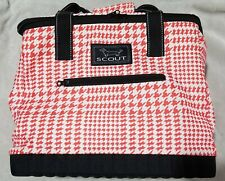 New listing Scout The Stiff One Large Soft Insulated Cooler Red and White
