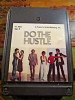 DO THE HUSTLE 8 Track Tape~