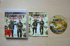 Ps3-Conflict: denied Ops (OVP, con istruzioni)