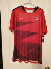 Mitre Elite Usa Soccer Jersey - Red Blue - L Beautiful