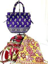 4 VERA BRADLEY Shoulder bag Purse Totes And Backpack Medium