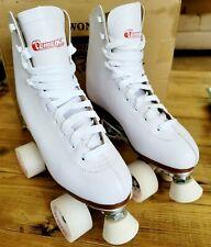 Chicago 800 Women's  Roller Skates Premium White Quad Rink Skates Size 7 US NIB