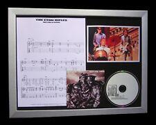 THE JAM+WELLER Eton Rifles LTD MUSIC FRAMED QUALITY CD DISPLAY+FAST GLOBAL SHIP