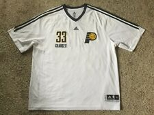 dd58f7ebe Danny Granger Indiana Pacers Adidas NBA Warm Up Sz XL Mens Shooting Shirt