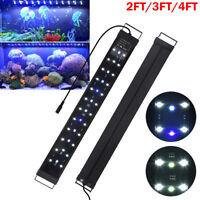 LED Aquarium Light Full Spectrum Freshwater Fish Tank Plant Marine 24 36 48