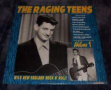 RAGING TEENS VOLUME 1 LP Norton Gene Maltais Sonny Lane Satellites Sin Alley