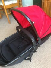 Mothercare Journey Pushchair Replacement Seat/Carrycot Unit In Red/Black