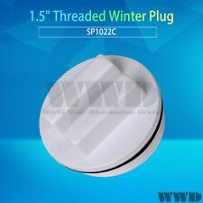 "1.5"" Threaded Swimming Pool Spa Winter Plug, Filter Drain Cap FOR SP1022C New"
