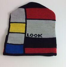 Look vintage Block Colour Wool Hat