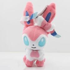 "Sylveon Pokemon Eevee 7"" 18CMPlush Soft Toy Stuffed Doll Cute Gifts"