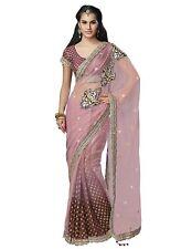 Indian Pakistani lehenga Saree Sari  Bridal Ethnic Bollywood stitched blouse