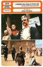 FICHE CINEMA : L'HOMME QUI VOULUT ETRE ROI Connery1975 The Man Who Would Be King