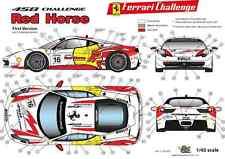 "[FFSMC Productions] Decals 1/43 Ferrari F-458 Challenge ""Red Horse"" (Non Race)"