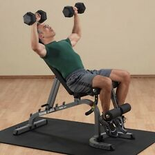 Body Solid Commercial FLAT INCLINE DECLINE WEIGHT BENCH GFID31